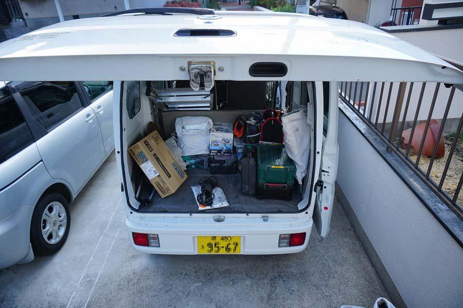 シロアリ110番の作業車