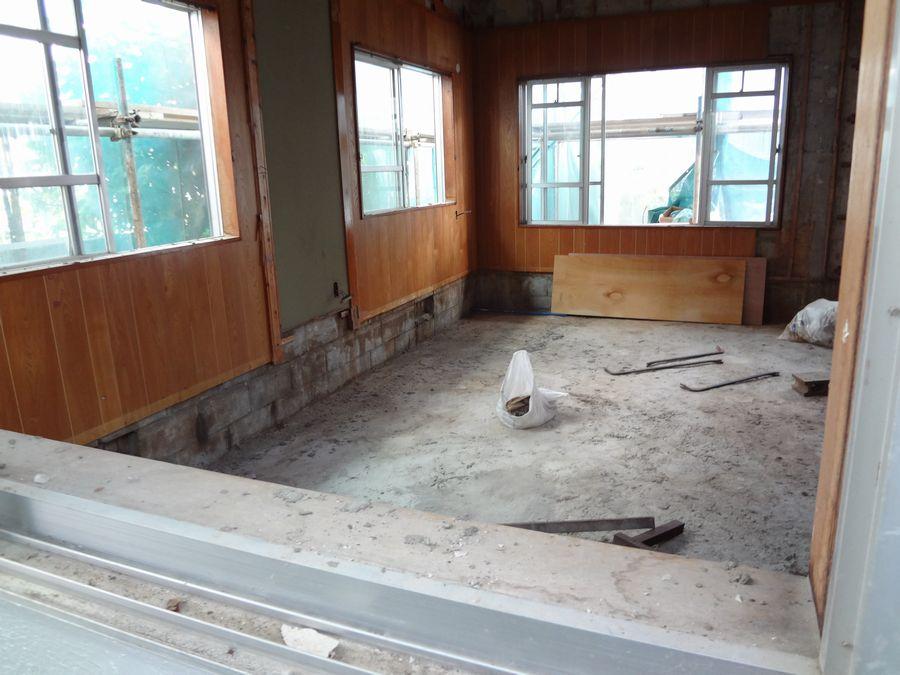 シロアリ被害にあったRCB建物